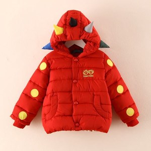 TAY19030 winter cartoon monster thick cotton padded baby boy jacket