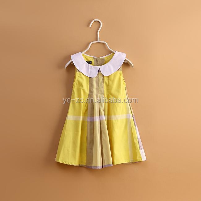 Cowboy Baby Dress Children Long Frocks Designs Girls Cotton ...