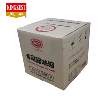 Factory Supply 할랄 (halal) KINGZEST 20L bulk 초밥 쌀 <span class=keywords><strong>식초</strong></span>