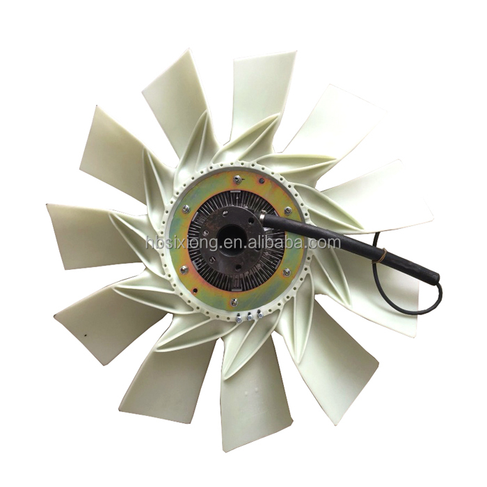 Dongfeng 1308ZD2A-001 auto truck parts clutch silicone oil cooling fan