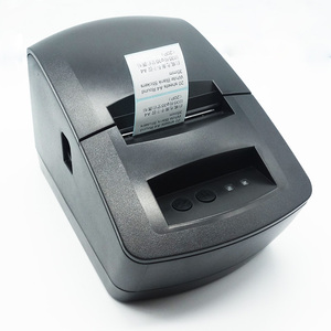 multifunction mobile pos printer 2 in 1 for die cut thermal label / thermal paper roll 58MM