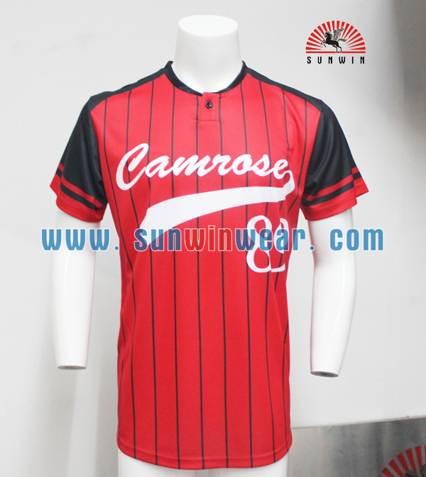Custom sublimation baseball jersey blank baseball jerseys for Custom baseball tee shirts