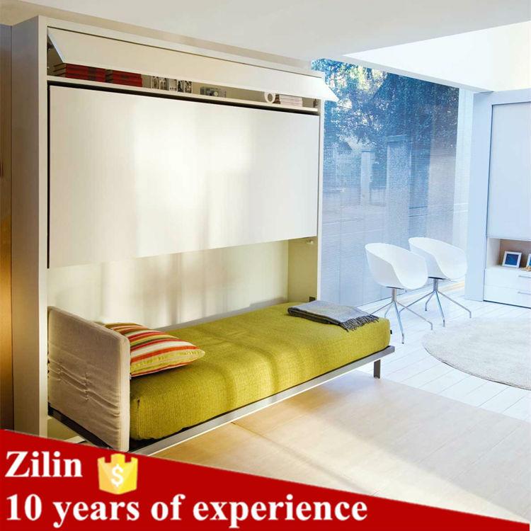 공간 절약 슬라이드 디자인 성인 금속 학교 침대 더블 이층 침대 ...