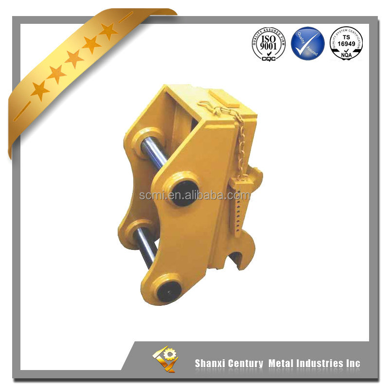 Mini excavator bucket mechnical or hydraulic quick coupler