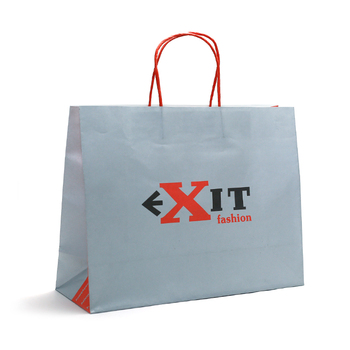 WKP-08 Custom Eco Friendly Recycle  cloth packaging Shopping,Craft   Paper shopping  Bag China Factory