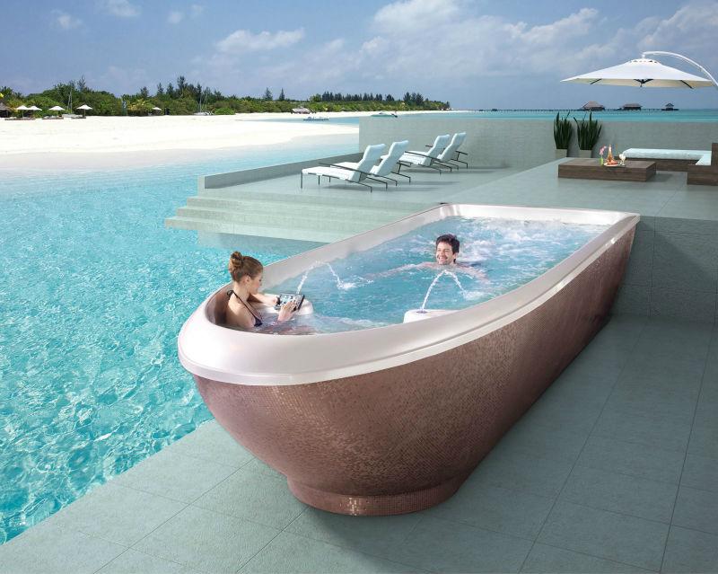 Endless Pool Liquid Acrylic Swimming Pool Fs-p12 12 Meter Long - Buy  Swimming Spa,Swim Spa,Swim Pools Product on Alibaba.com