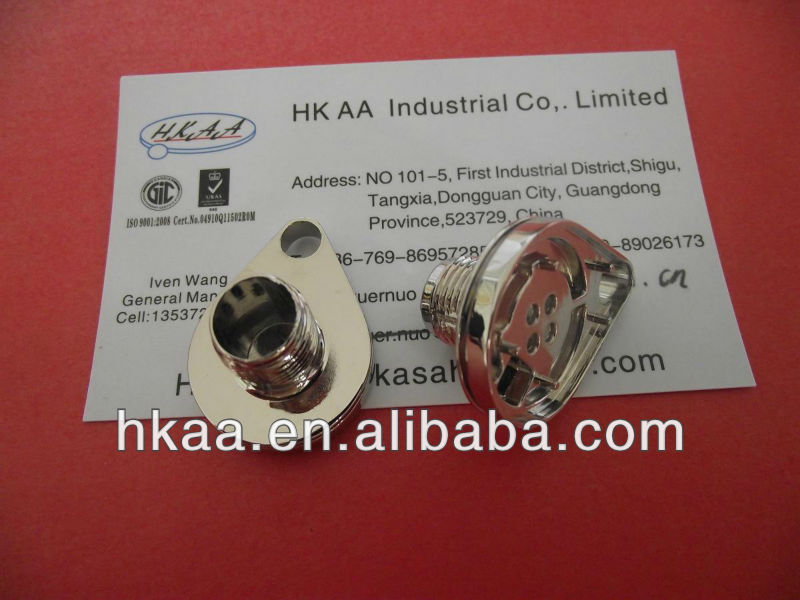 Nickle/Chrome Finish Steel Male Inserts for PPR Fittings