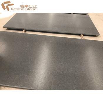 Nero Assoluto Zimbabwe , Leather Finished Nero Assoluto Zimbabwe Black Granite Tiles For