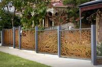Decorative Garden Metal Fence Panesl - Buy Metal Fence Panesl ...