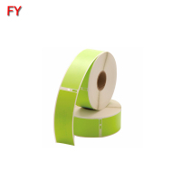High quality green dymo label printing custom green dymo label