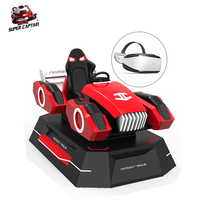 Amazing Games Rc Racing 9D VR Racing Car For VR Game Center 9D Simulator Game Machine