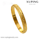 xuping high quality gold 22k 24k imitation jewelry bangle bracelet for women