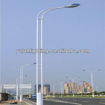 Street Light Pole Manufacturers Steel Pipe Solar Lighting Price