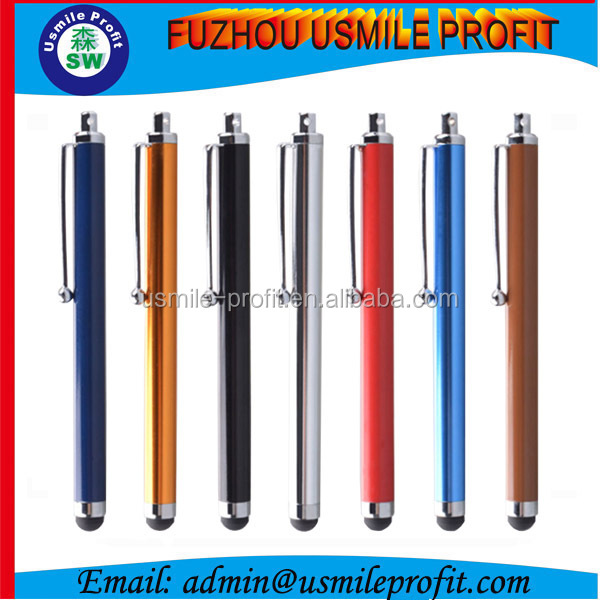 Metal Universal Stylus Touch Screen Pen For iPhone iPod iPad