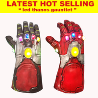 2019 new hot led light Thanos gauntlet guangzhou cheap hobbies child kid toy for kids