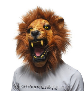 Halloween Wholesale Adult Masquerade Mask Horror Lion Animal Mask - Buy  Lion Mask,Lion Animal Mask,Horror Lion Mask Product on Alibaba com