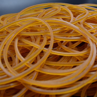50mm Nature Color Office Rubber Band for tie money