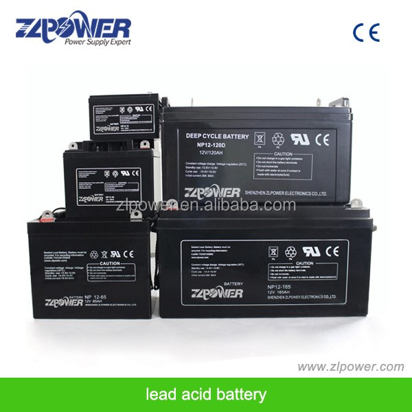 High Quality Shenzhen ZLpower Lead Acid Battery Maintenance free car battery