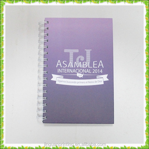 customs printing spiral notebook for meeting minutes