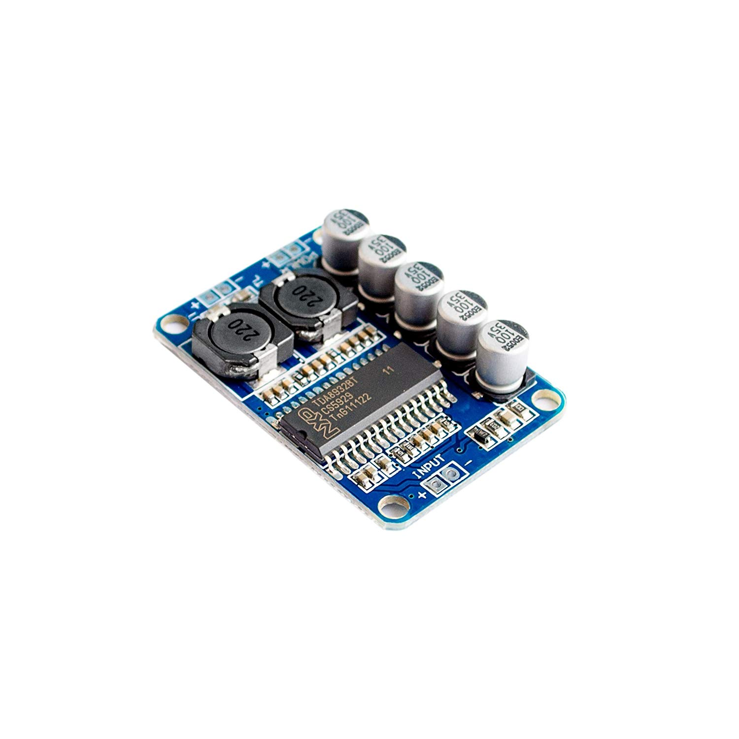 Mayata 10PCS/LOT Digital power amplifier board module 35w mono amplifier module High-power TDA8932 low power consumption