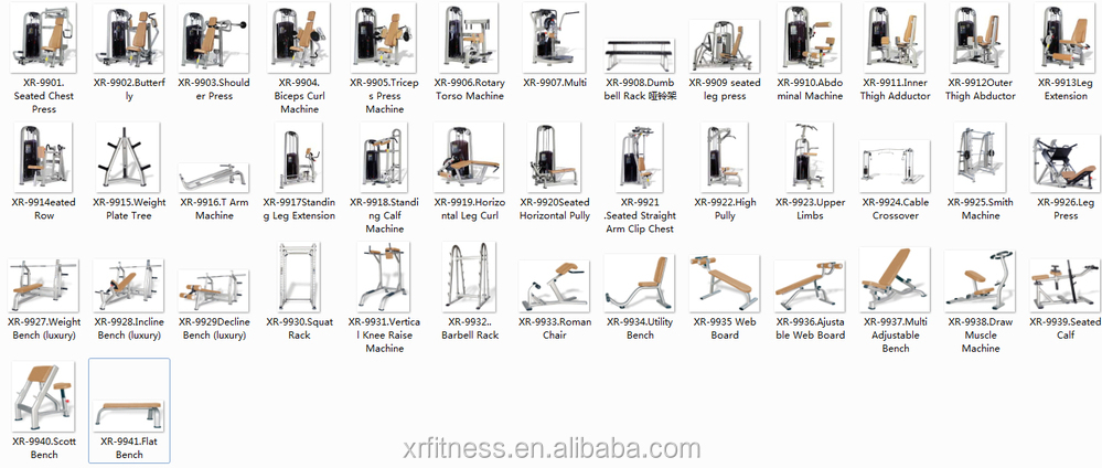 Pectoralis Major Exercise Gym Equipment Seated Straight