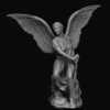 modern design high quality life size bronze figure statue cemetery angel statue for outdoor