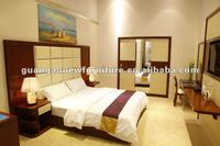 used hotel popular bedroom solid wood furniture