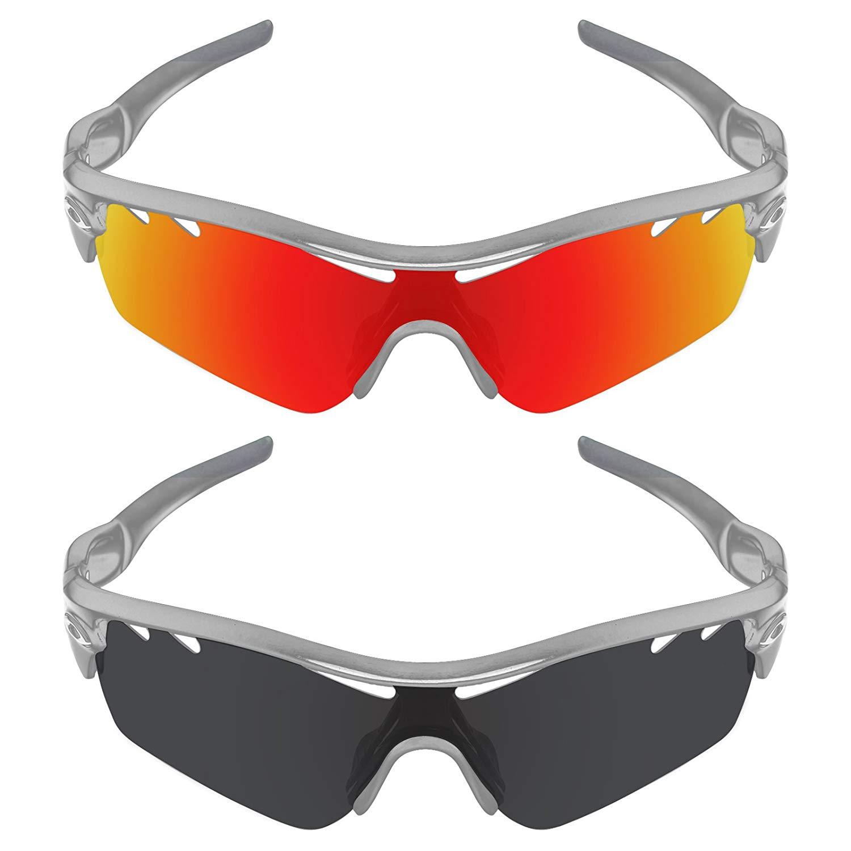 e954d2e1d0960 Get Quotations · Galvanic Replacement Lenses for Oakley Radar Path Vented  Sunglasses - Multiple Choices