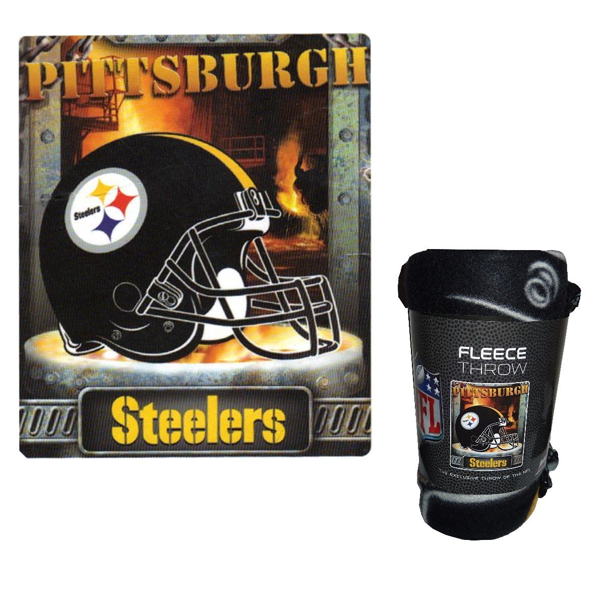 9ca966903 Get Quotations · NFL Officially Licensed Steelers Steel Furnace City 50