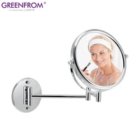 8 inch wall decoration modern bathroom vanity makeup mirror