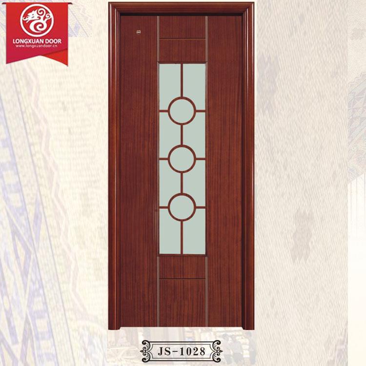 Puertas madera y vidrio hoja de puerta de interior en for Puertas de entrada de madera y vidrio