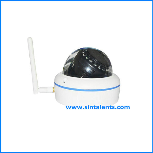 Fake Dummy Imitation Dome Security Camera with Flashing Light LED
