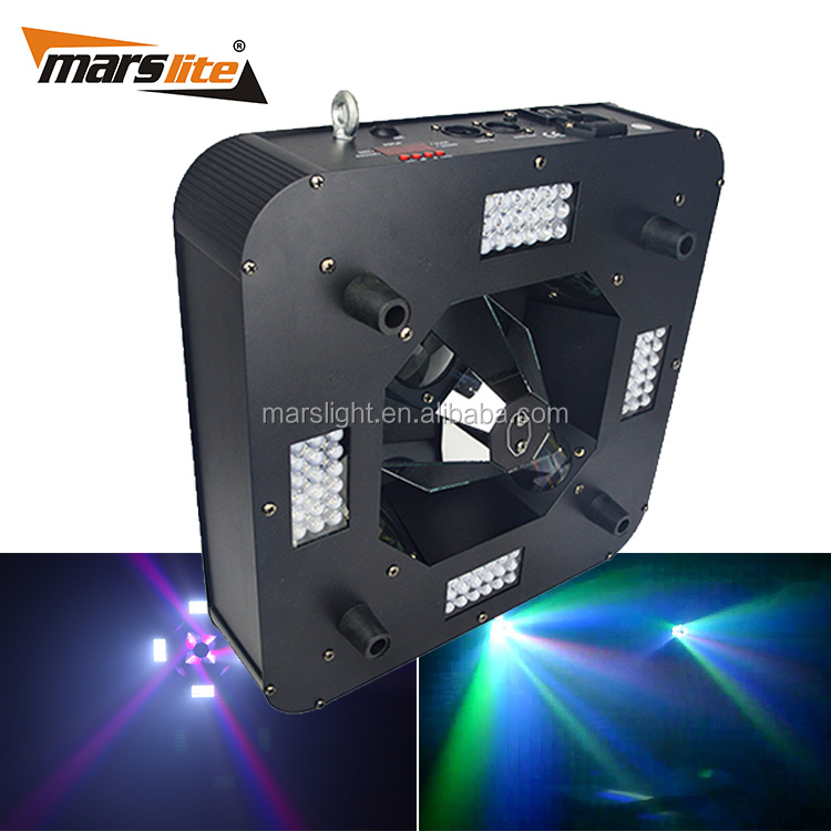 Hot products to sell online 4x10W RGBW 4 in 1 LED+72pcs mini LED Strobe party Lights