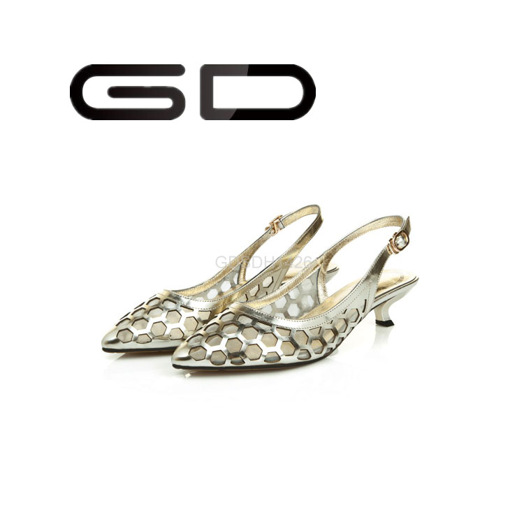 Fashion Sexy Women Fancy Sandals New Gils Shoes Low Heel Sandals ...