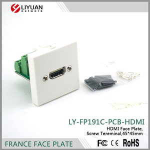 LY-FP191C-PCB-HDMI Network Modular PCB Board hdmi faceplate