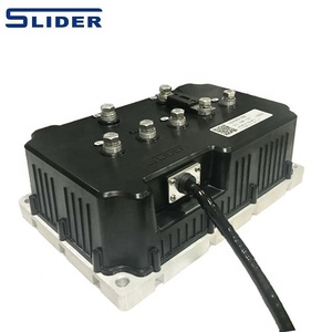 forward reverse charge brushless programmable three phase ac motor controller of ev golf cart
