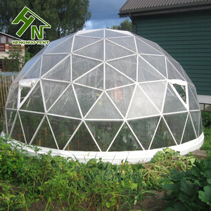 Geodesic Dome Clear Pvc Garden Plastic Igloo Tent
