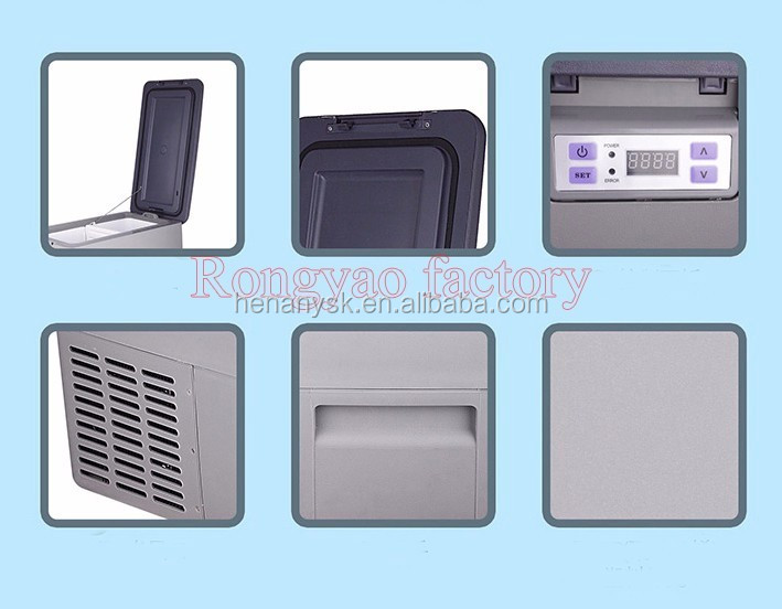 IS-YJ-30L Car refrigerator FRIDGE cooling Frozen -18-10C 12V car 24V truck general purpose