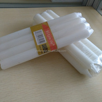 white plain candles pillar Unscented candle 8