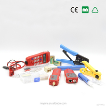 Computer Maintenance Network Repair Tool Set With Wire Stripper NF-866 Wire Tracker Phone Checker Tester Set Stripping Box Kit