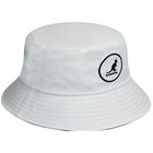 Custom promotional white bucket hat cotton