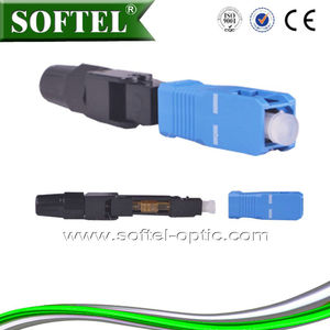 Fiber Optic Connector fast connectors FC/ST/SC/FC/LC/MU/MRJT/E2000/ PC/APC/UPC | sc upc optic fast connector at lower price