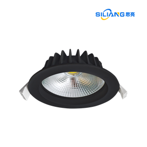 led downlight 90mm dimmable cob downlight housing 12W IP44 IC-4 cct adjustable led downlight