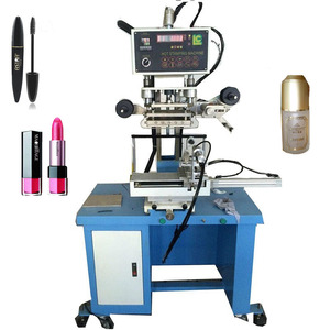 Trusty Silicone plate bottle tube hot gilding press machine