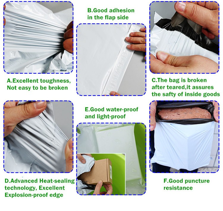 LDPE plastic courier bag