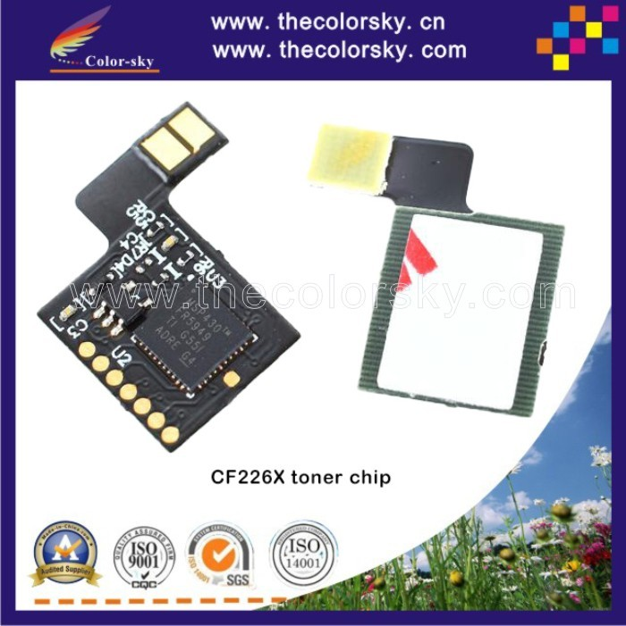 (TY-DH226X) toner laser printer reset chip for HP Laserjet Pro MFP 426dw 426fdw 426fdn 426 MFP426 M402 402 Bk 9k pages