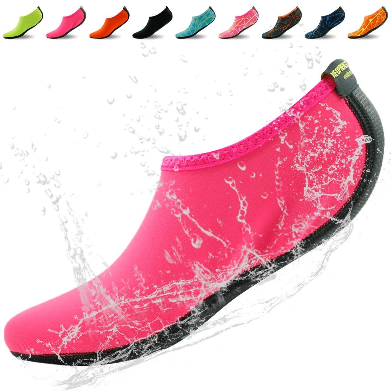 081abdd5fca1 Get Quotations · Home Slipper Unisex Water Shoes Barefoot Skin Aqua Shoes  Neoprene Socks Beach Swim Surf Yoga
