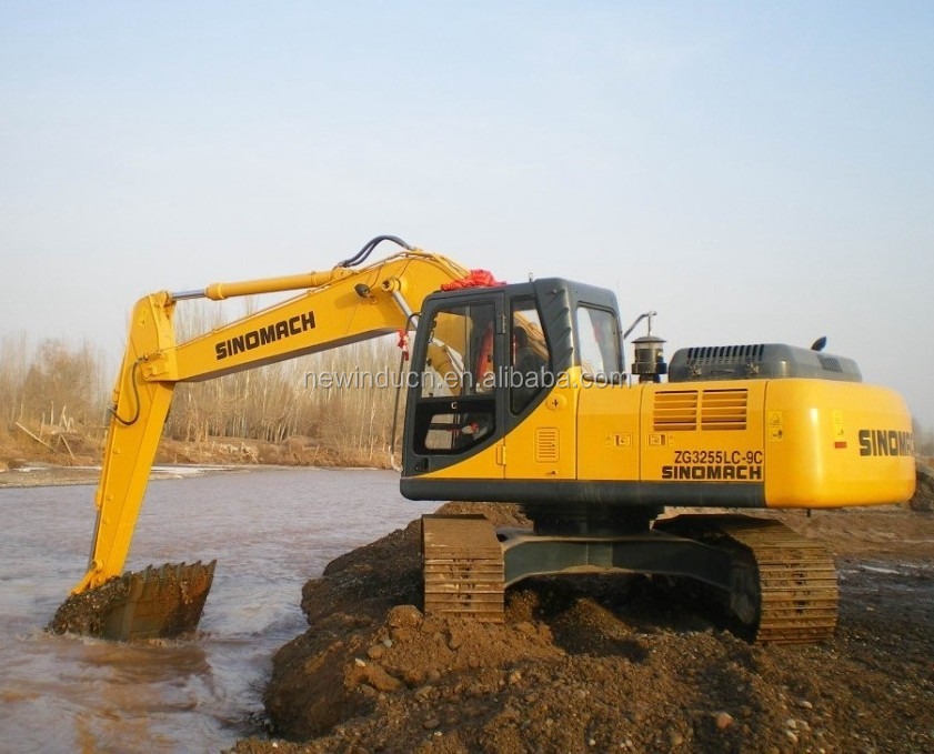 SINOMACH 36.5 ton Large Crawler Excavator New Earth Moving big excavators
