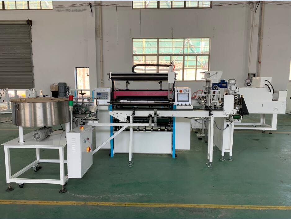 Fully Automatic Thermal Paper Cash Register Paper Atm Paper Slitting Machine Slitter Rewinder