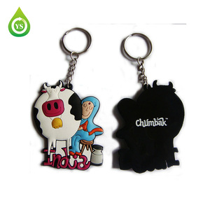 Custom made japanese rubber keychains
